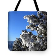 Frosty Limbs Tote Bag