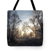 Frosty Morn 3 Tote Bag
