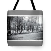 Frosty Morning At Dalmally  Tote Bag