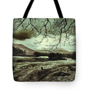Frosty Morning At Glen'orchey   Tote Bag