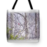 Frosty Morning Song Tote Bag