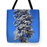 Frosty Pine Tote Bag