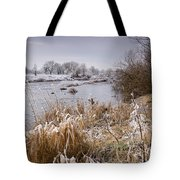 Frosty River Tyne Tote Bag