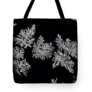 Frosty Snowflakes Tote Bag