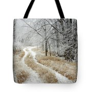 Frosty Trail 2 Tote Bag