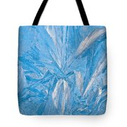 Frosty Window Art Tote Bag