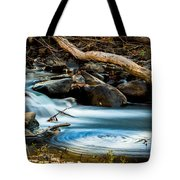 Frothy Swirls Tote Bag