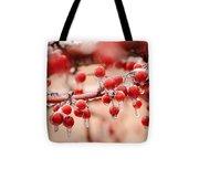 Frozen Berries Tote Bag