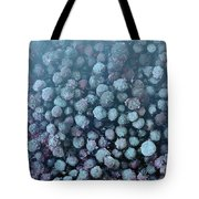 Frozen Blueberries Tote Bag