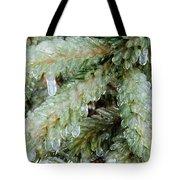 Frozen Boughs Tote Bag