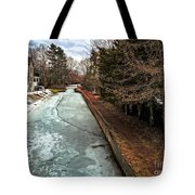 Frozen Canal Tote Bag