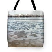 Frozen Dnieper River Tote Bag