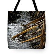 Frozen Edges And Ends Tote Bag