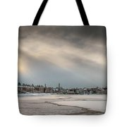 Frozen Exeter Tote Bag
