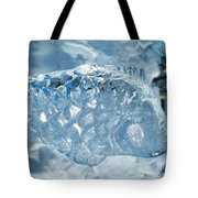 Frozen Fish Of The Northern Forests Tote Bag