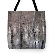 Frozen Forest Floor Tote Bag