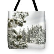 Frozen Forest Tote Bag