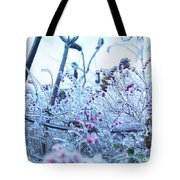 Frozen In Ice Nature Tote Bag