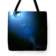 Frozen In Time And Space Tote Bag