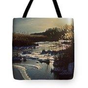 Frozen Marsh Tote Bag
