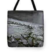 Frozen Milfoil Tote Bag
