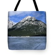 Frozen Minnewanka Tote Bag