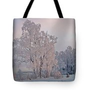 Frozen Moment Tote Bag