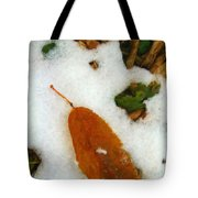 Frozen Nature - Digital Painting Effect Tote Bag