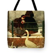 Frozen Out Tote Bag