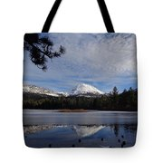 Frozen Reflections Tote Bag