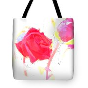 Frozen Rose Tote Bag