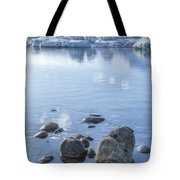 Frozen Serenity Tote Bag