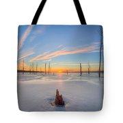Frozen Sunrise V2 Tote Bag