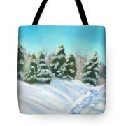 Frozen Sunshine Tote Bag