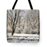 Frozen Swamp Tote Bag