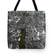 Frozen Tree 2 Tote Bag