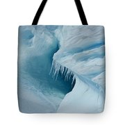 Frozen Turquoise Wonder... Tote Bag