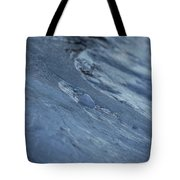 Frozen Wave Tote Bag