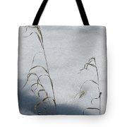 Frozen Wheat Tote Bag