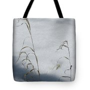 Frozen Wheat Tote Bag