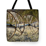 Frozen Wheels Tote Bag