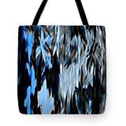 Frozen Zebra Tote Bag