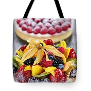 Fruit And Berry Tarts Tote Bag