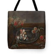 Fruit And Flowers On A Table Tote Bag