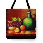 Fruit And Jug Tote Bag