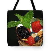 Fruit Cone Tote Bag