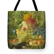Fruit Flowers And Dead Birds Tote Bag