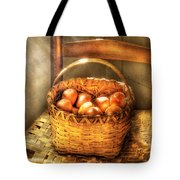 Fruit - Fresh Peaches  Tote Bag by Mike Savad