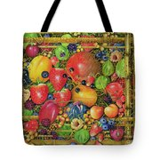 Fruit In Bamboo Box Tote Bag
