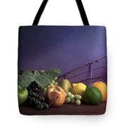 Fruit In Still Life Tote Bag